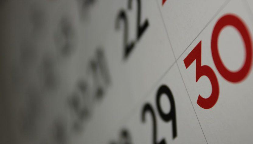 Блок настенного календаря
